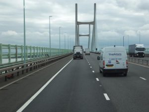 Severn Bridge, South Wales