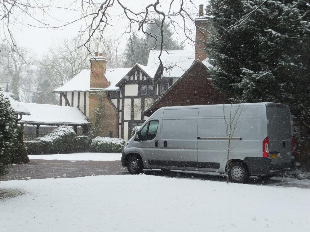 Snow in Kent Feb 2018